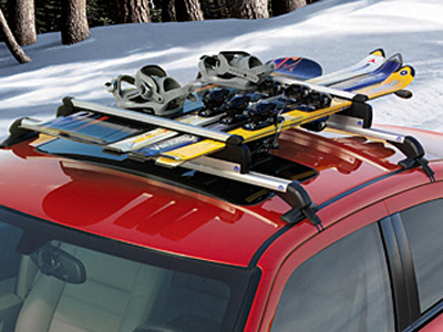 2012 Chrysler 200 Ski and Snowboard - Roof-Mount - Thule TC91725S