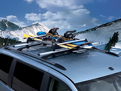 2009 Chrysler Aspen Ski and Snowboard Carrier, Roof-Mount 82211313