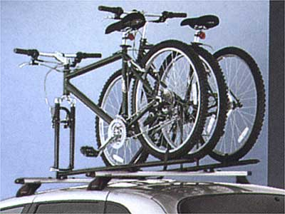 2004 Chrysler PT Cruiser Roof-Mount Bike Carriers